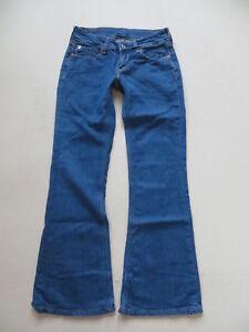 Levi-039-s-479-Booty-Flare-Schlag-Jeans-Hose-W-28-L-30-Indigo-Stretch-Denim-36