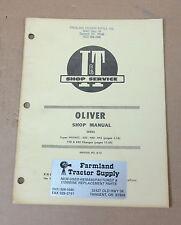 Oliver Iampt Shop Service Manual 77088099gmtc950990995 Manual No O 13