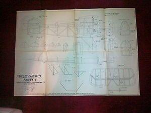 Bien éDuqué Handley Page Hp19 Hanley Scale Plan-afficher Le Titre D'origine
