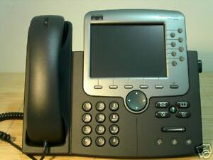 Cisco-CP-7970G-7970-Unified-IP-Color-Phone-VoIP-IP-Farb-Telefon