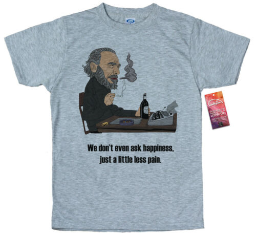 Charles Bukowski T Shirt Design
