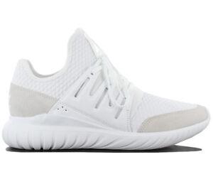 Adidas Originals zapatillas hombres zapatos blanco radial tubular textil