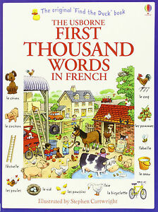 The-Usborne-First-Thousand-Words-in-French-Book-Very-Beginners-Starters-Basics