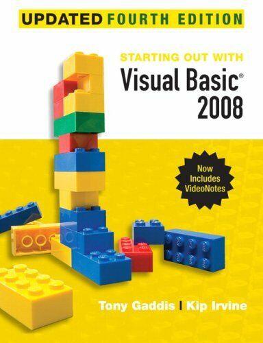 Visual Basic 2008 by Gaddis, Tony -ExLibrary