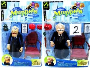 Jim Henson's Muppets Waldorf and Statler  NEW  Lot of 2  Series 6 Sesame Street