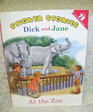 STICKER STORIES DICK AND JANE AT THE ZOO WORKBOOK 2005