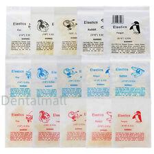Dental Orthodontic Rubber Bands Ortho Elastics Latex Braces 18 516 35 65 Oz