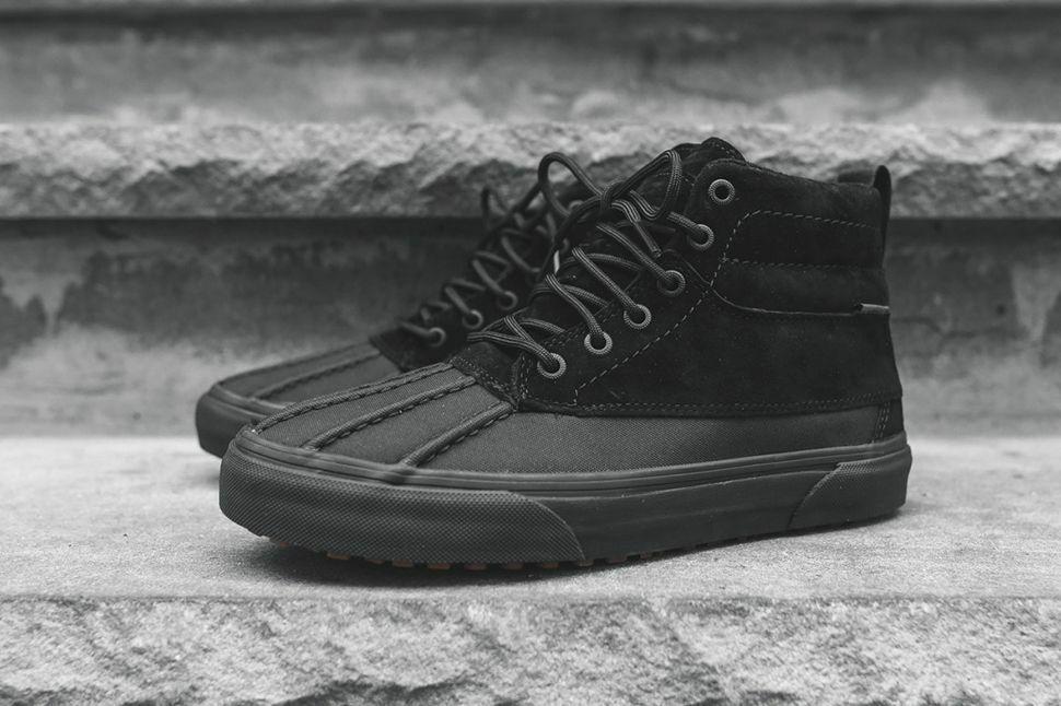 Vans Sk8 Hi Del Pato MTE Todo Negro Zapatos hombres 5 Edición De Montaña Para Mujer 6.5