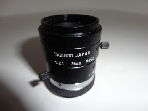 Tamron 35mm C mount 1:2.1 501504 with aperture and focus lock