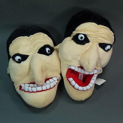 Neu Magnus Unisex Tierhausschuhe Hausschuhe Puschen Vampir Halloween Gesicht