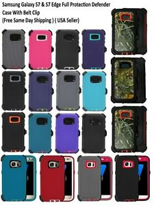 For-Samsung-Galaxy-S7-amp-S7-Edge-Defender-Case-Cover-Belt-Clip-fits-Otter-box
