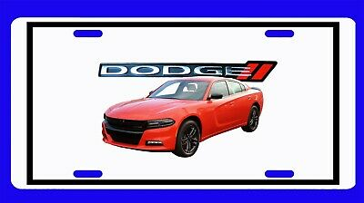Collectibles New 2018 Dodge Charger License Plate Other Automobilia