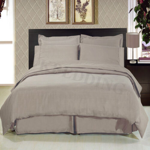 Fine Quality 100/% Egyption Cotton Duvet//Quilt Cover With Pillowcases TC 300