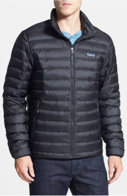 Patagonia Mens Down Sweater Jacket 84674 Black Size Small Ebay