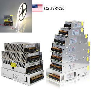 5V 12V 24V 48V Power Supply Driver AC110-220V TO DC Switch adapter For LED Strip