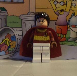 Harry Potter lego mini figure HARRY 4737 quidditch match