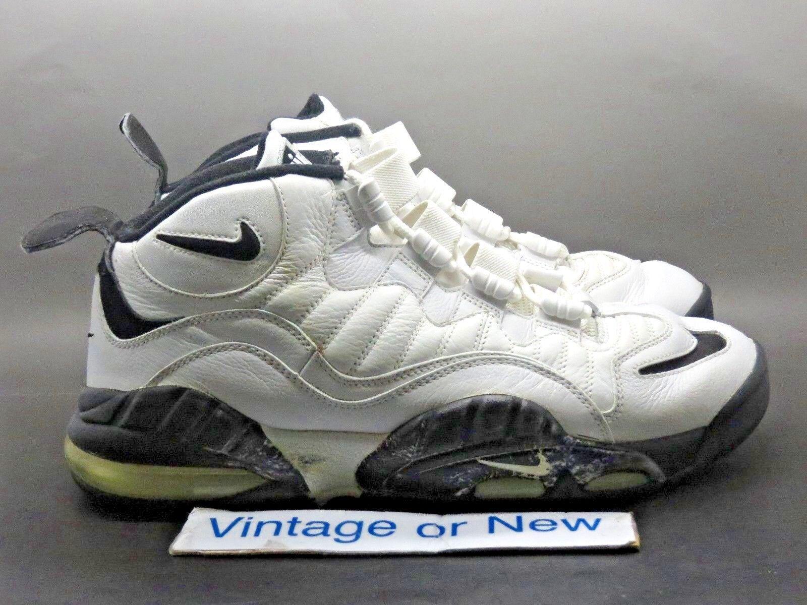 VTG Nike Air Max Senation White Black Chris Webber 2006 sz 9