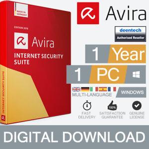 Avira-Internet-Security-Suite-2019-1PC-1-ANNO-ANTIVIRUS-LICENZA-ORIGINALE-WINDOWS