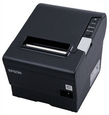 Epson Tm T88v Thermal Receipt Printer Usbparallel Interface Black New