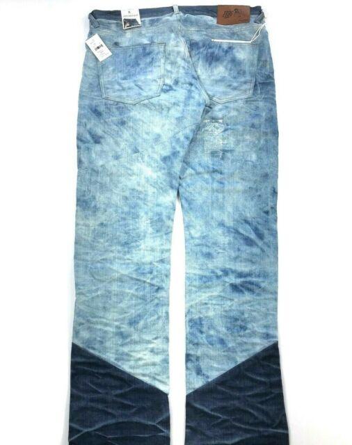 NWT PRPS Men's Jeans Size 36 Straight Barracuda Low Rise Pants Retail $395