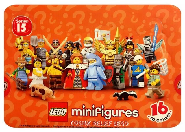 FACTORY SEALED NEW LEGO® 71011 Minifigures Series 15 POLYBAG