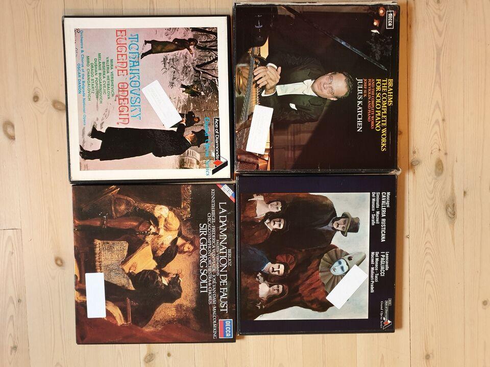 LP, Klassisk, Klassisk fra Decca.