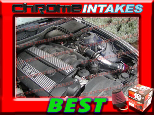 K/&N+BLACK RED 2001-2003 BMW 525 525i//530 530i i E39 2.5L//3.0L I6 AIR INTAKE KIT