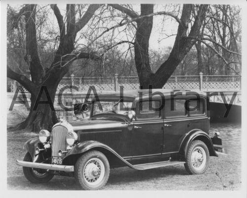 Factory Photo 1932 Plymouth PB Four Door Sedan Ref. #67182