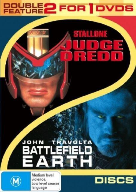 Judge Dredd  / Battlefield Earth  Dual Pack (DVD, 2006, 2-Disc Set)