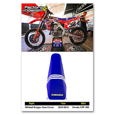 2013 - 2016  HONDA CRF 450 Troy Lee Designs Adidas SEAT COVER BY Enjoy MFG