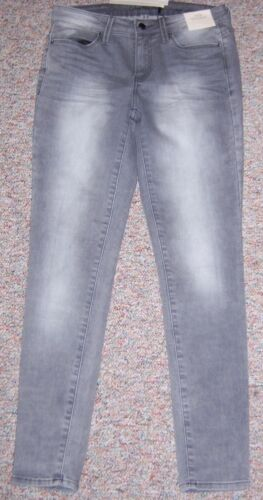 Jeans Taille basse Klein Calvin ou Denim Leggings 6 skinny gris taille 28 Nwt w4g0CqO