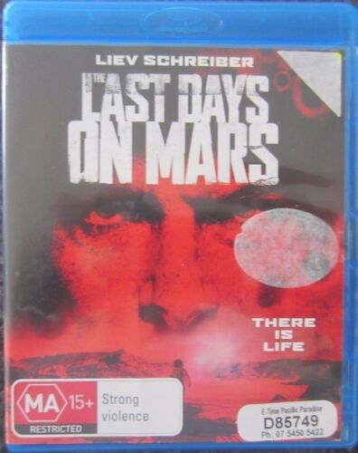 1 of 1 - The Last Days On Mars (Blu-ray, 2014) VGC