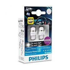 Philips Vision LED 360 W5W T10 6000K (Twin) - parking bulbs 2 pcs