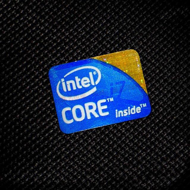10x Intel Core i3 Inside Sticker 15.5 x21mm sticker label Haswell Case Badge USA