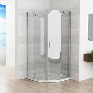 duschkabine runddusche 180 schwingt r dusche viertelkreis 90x90 80x80 nano esg ebay. Black Bedroom Furniture Sets. Home Design Ideas