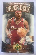 2006-07 Upper Deck Factory Sealed Basketball NBA Hobby Box