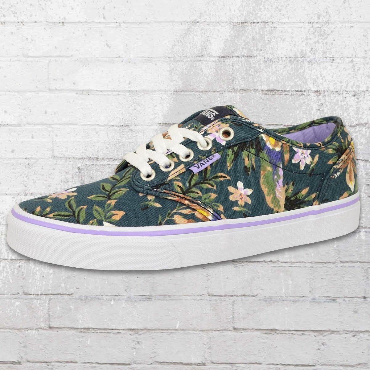 Vans cortos señora atwood floral azul multicolor mujeres zapatos verano zapatos Ladies