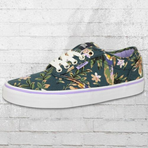 Azul Atwood de mujer Zapatillas Floral de Multicolor Zapatos Vans mujer para para mujer Zapatos deporte verano de Sqva0XvRw