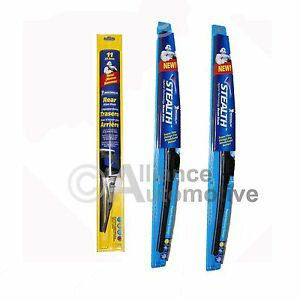 "3 Michelin Windshield Wiper Blades Size 24"", 20"" &amp ..."