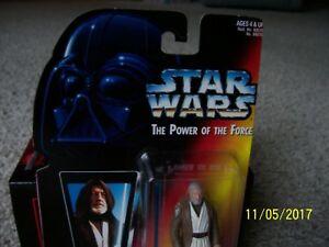 1995 Kenner Tonka Star Wars Power Of The Force Ben (Obi-Wan) Kenobi NEW In Pkg