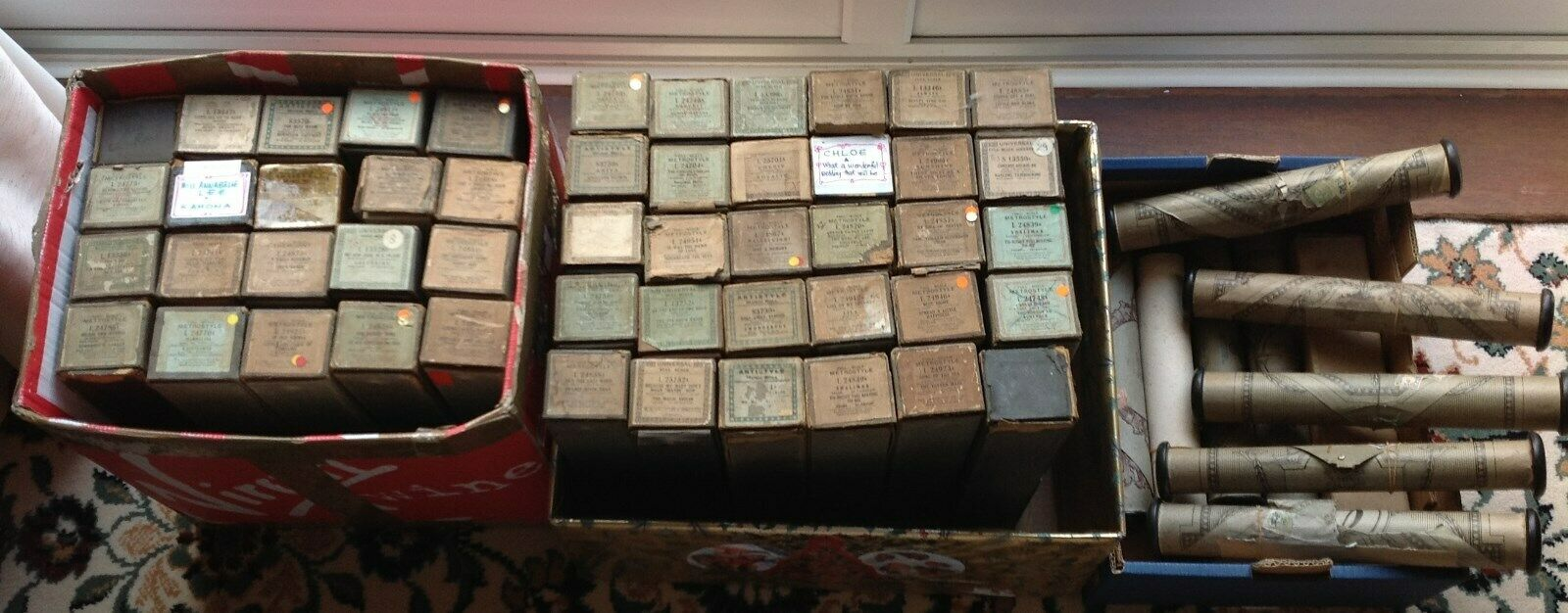 Piano Rolls - 60 Dance pianola rolls - 88 note -COLLECTION ONLY - BOURNEMOUTH