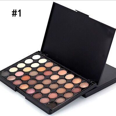 40 Colour Eye Shadow Makeup Cosmetic Shimmer Matte Eyeshadow Palette Set LL