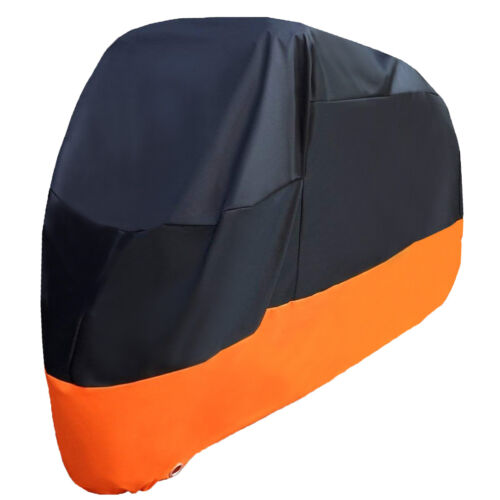 Motorcycle Cover Bike Waterproof For Harley Davidson Outdoor Rain Dust Large XXL