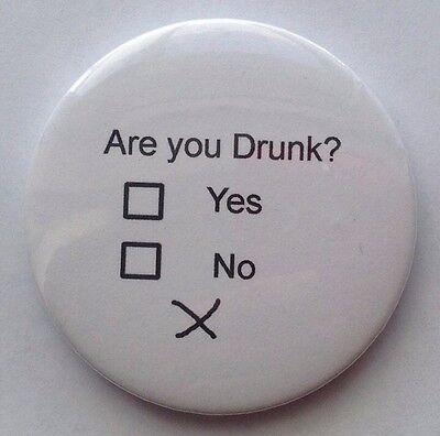 "Funny Fridge Magnet - ""Are You Drunk?"" Fridge Magnet"