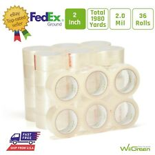 No Noise Silent Packing Tape Refill 2 Inch X 55 Yards For Packaging Sealing