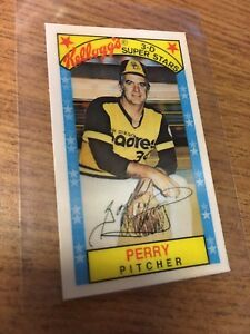 Details About Kelloggs 1979 Gaylord Perry 3d Superstars Baseball Card 49 Xograph Padres