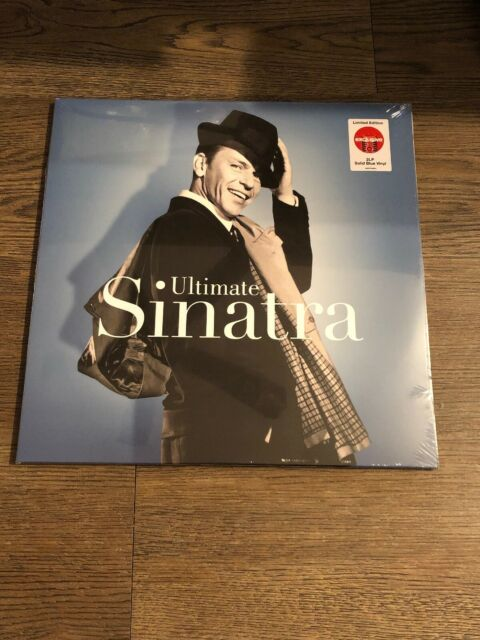 Ultimate Sinatra Limited Edition Solid Blue Colored 2xlp