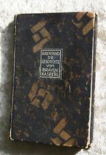 C.Brentano-Geschichte vom braven Kasperl und dem schönen Annerl-mit 6 Lithograph