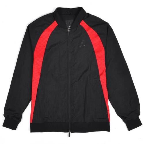 NEW Nike Air Jordan JSW Wings Woven Mens Jacket BRED Black Red 843100 016