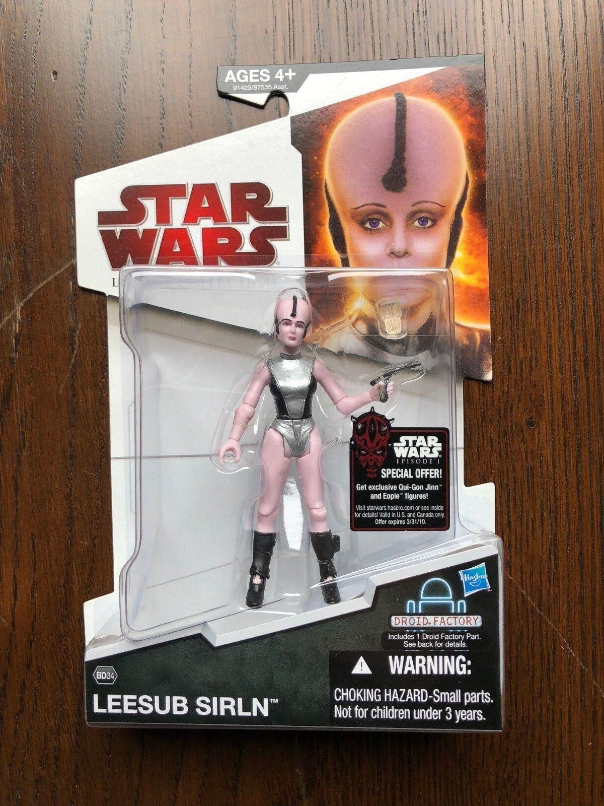 Hasbro 2009 Star Wars Legacy Collection Droid Factory Series - LEESUB SIRLN